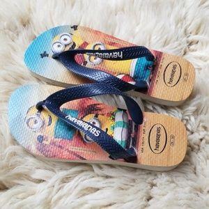 Havaianas Kids Minions Flip Flops